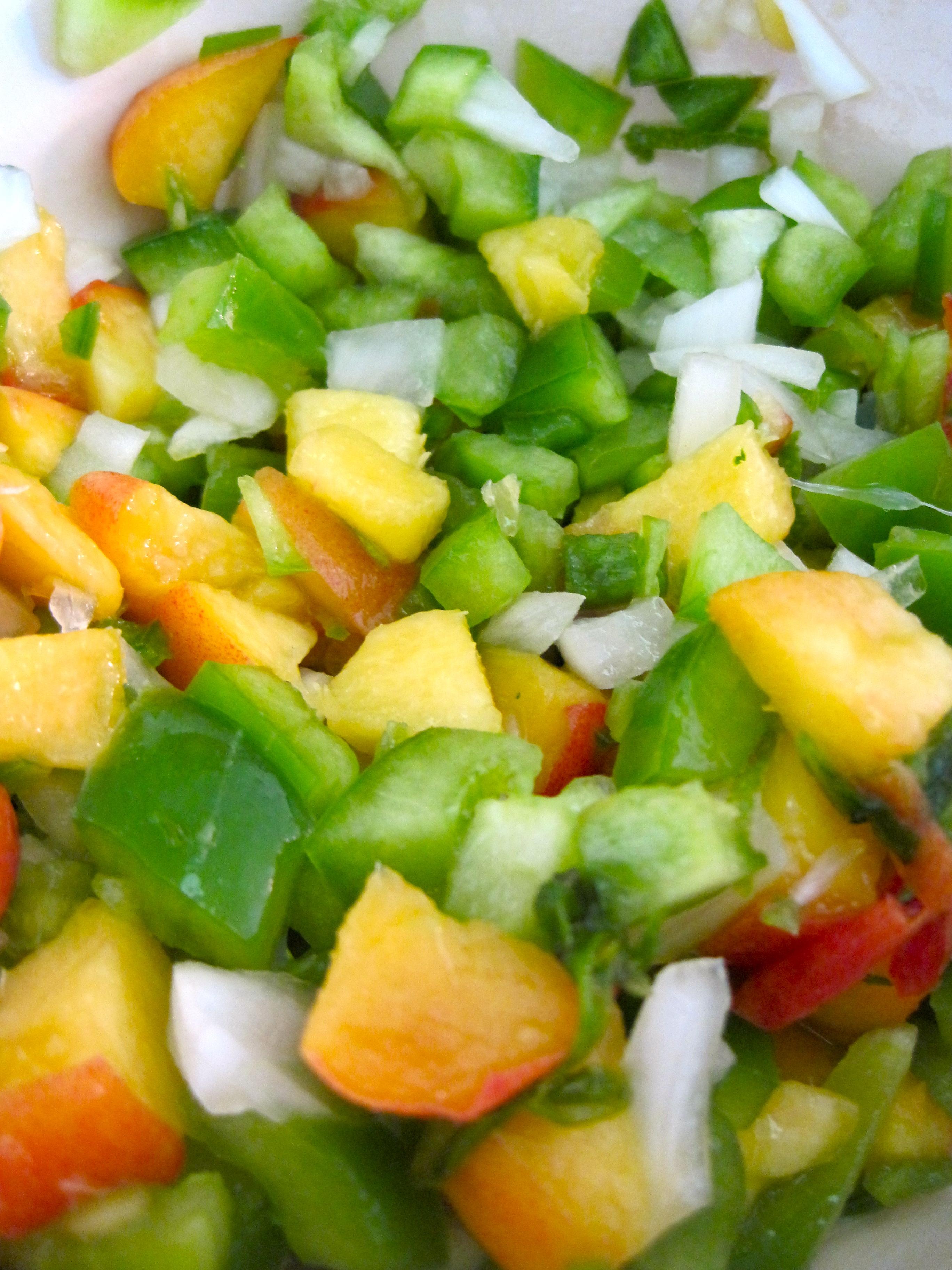Black Bean Tacos with Spicy Peach Salsa — Rhyann's (Rad)ventures