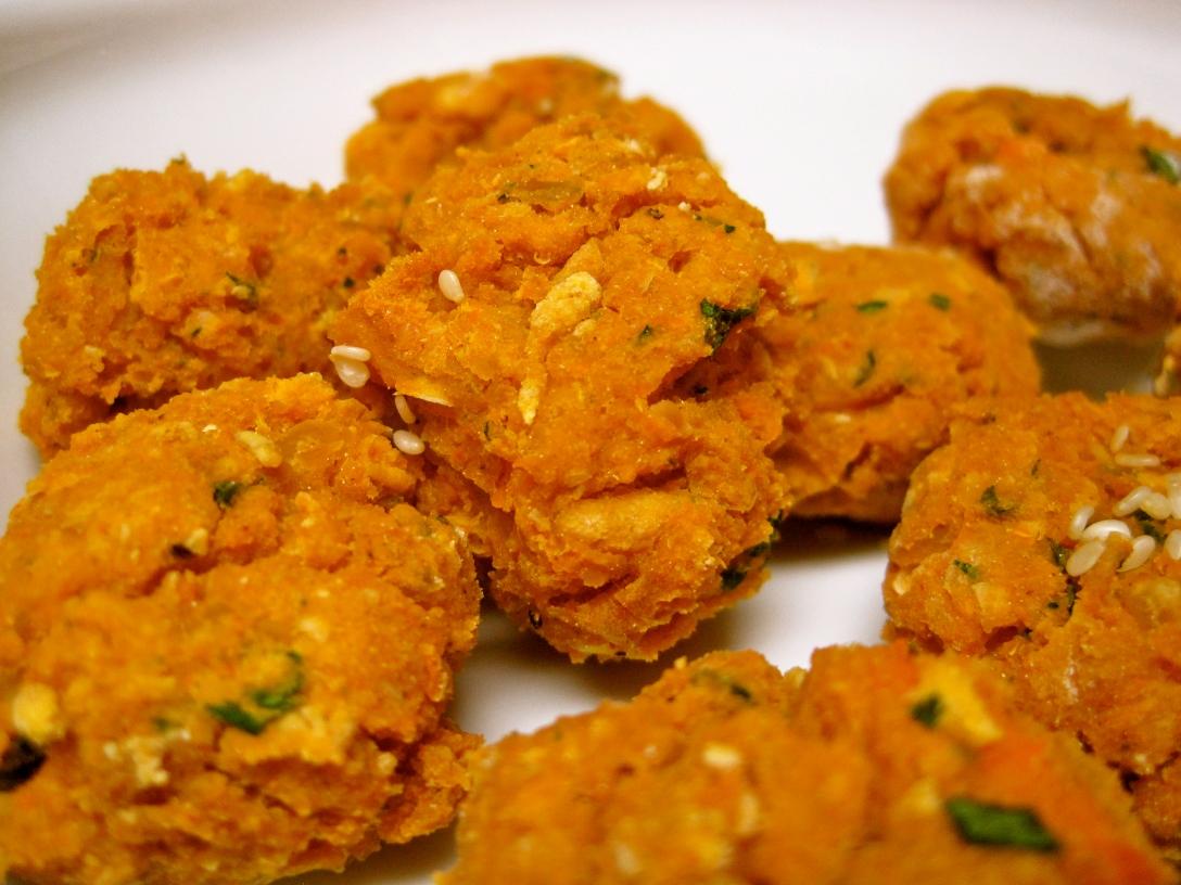 Baked Sweet Potato Falafel – Rhyann's Rad-Ventures