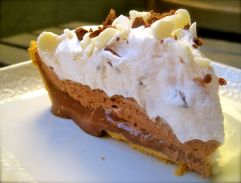Chocolate Truffle Pie