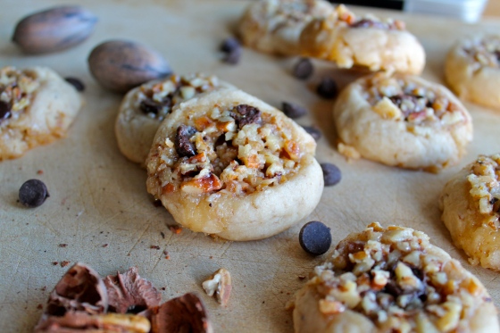 Chocolate Pecan Pie Cookies