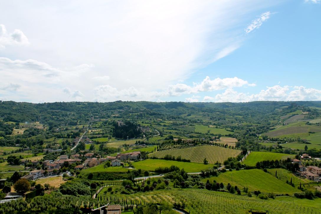 The beautiful countryside