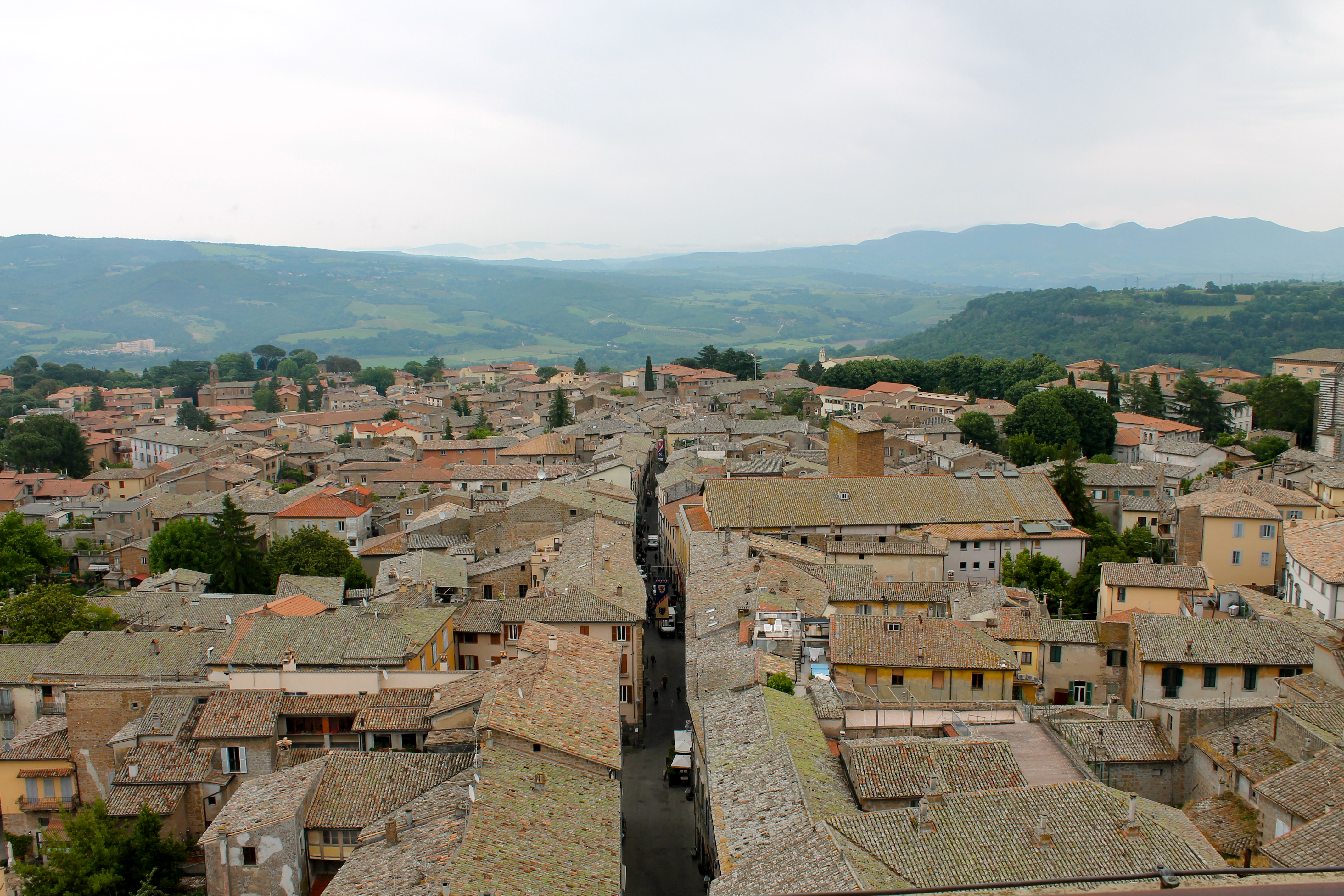 A picturesque view of Orvieto
