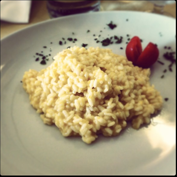 Creamy Lemon Risotto in Orvieto, Italy