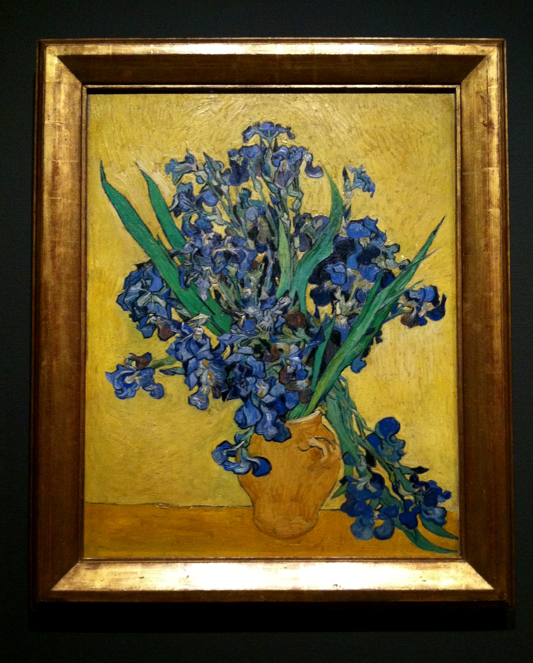 This is one of my favorites from the Van Gogh museum. This might also be one of the pieces that I was NOT supposed to photograph.