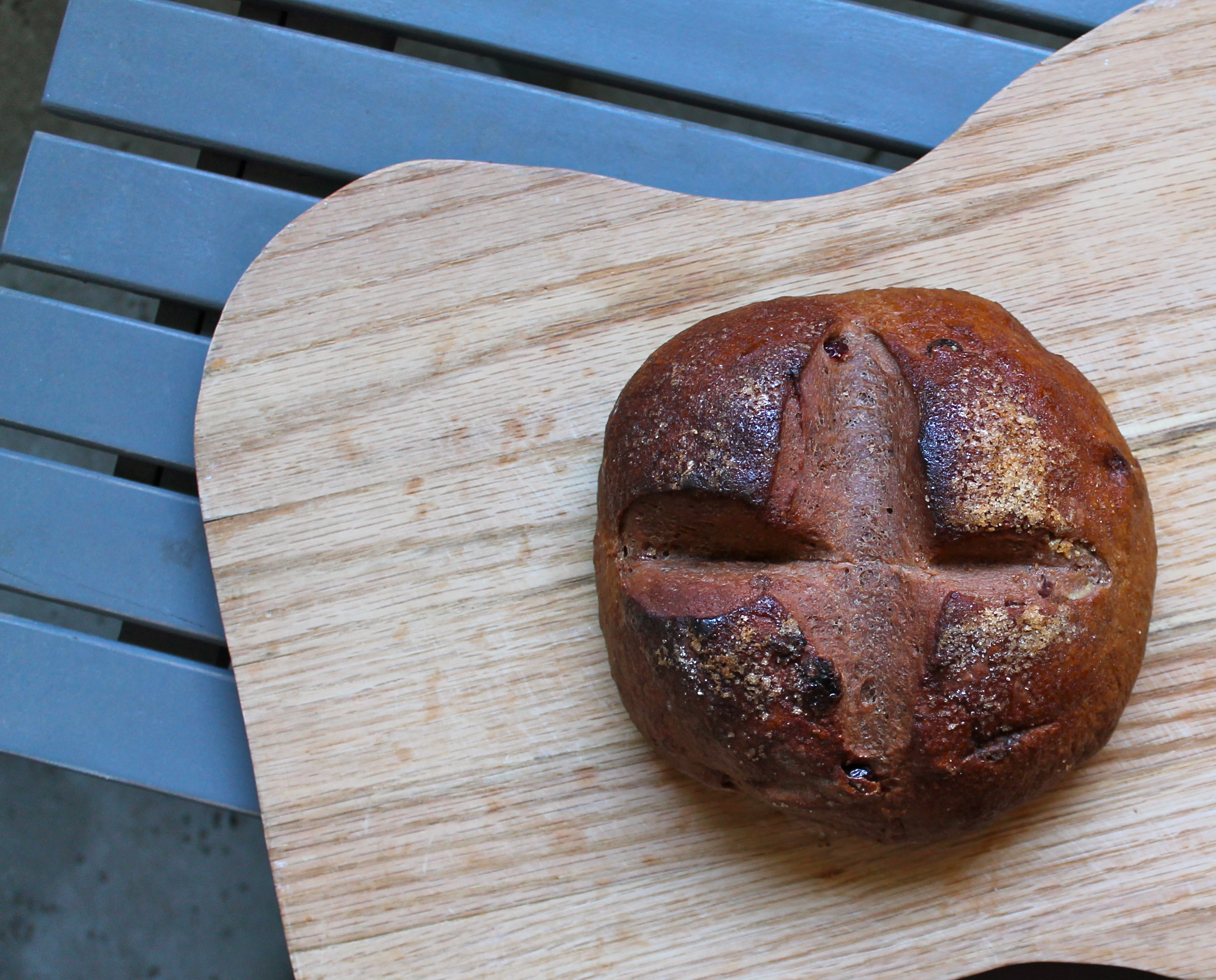 Chocolate Cranberry Yeast Bread